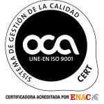 OCA 2012 9001 ENACret